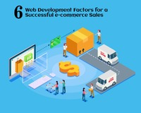 6 Web Development Factors for a Successful e-commerce Sales