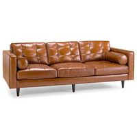 Oasis Darrin Leather Sofa - jcpenney