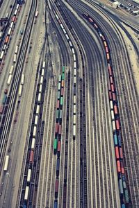 by Christina Shaffell. I am so in love with photography of trains and line in general.