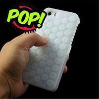 IPhone 6s case HHYCT Funny Popping Decompression Bubble Wrap Back Soft Silicone Case Cover for iPhone 6/6S 4.7 Inch (White) $10.94