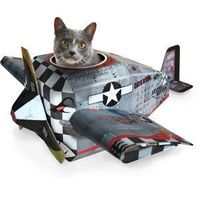 Plane Cat Playhouse, $28, now featured on Fab.