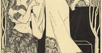 Silent Song Ephraim Moses Lilien (1874-1925), an internationally renowned Austrian illustrator and printmaker. He is often considered as the most prominent Jewish artist to be associated with Art Noveau or Jugendstil,