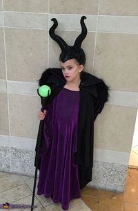 Rachael: After seeing Maleficent earlier in the year my 7 year old daughter Chloe was in love. She immediately wanted to be her for Halloween. I love a challeng