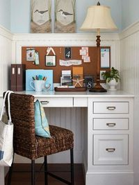 Small-Space Home Offices: Storage & Decor