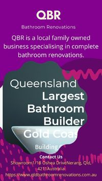 With no interest ever, get the bathroom you have been dreaming of and slice the  payments into easy to manage monthly payments.  Options from 6 months to 36 months are available now at Queensland Bathroom Renovations. Make an appointment today for a ba...