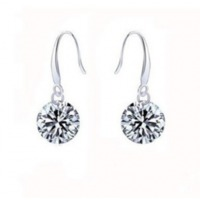 925 Sterling Silver Zircon Earrings