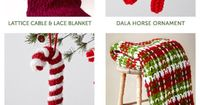 Traditional colors that are familiar and festive to fit any holiday palette   10 free knit and crochet patterns for Christmas from Yarnspirations.