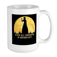 Tomorrow Is Another Day 15 oz Ceramic Large Mug Color: White