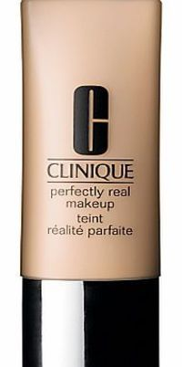 Clinique Perfectly Real Makeup Foundation - Dry Foundation for Dry Combination to Oily Combination Skin Types. Oil-Free Perfectly Real Makeup is a weightless foundation that provides the perfect match and a natural finish. Skin looks real but bette http:/...