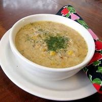 Salmon Chowder- this was AMAZING. I want to make it all the time. I used canned potatoes, baby carrots instead of diced, no dill, and frozen salmon fillets instead of canned. It's a recipe that you can play around with a little and make your own subst...