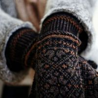 Mittens - ignore the link. Any cute knit wooly style mittens. Extra points if they are lined