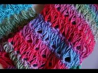 How To Crochet Broomstick Lace Stitch