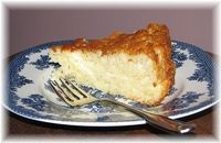 1 Box of Angel Food Cake Mix (I used Betty Crocker) and 1 20 oz can of crushed pineaplle in its own juice. Mix it together and spray pan with butter flavored pam. Bake at 350 degrees for 30-35 minutes. Top with Lite Cool Whip. 1/12 of a piece= 2 p...
