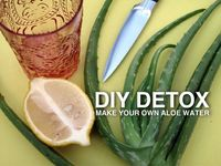 DIY Detox: Make Your Own Aloe Water
