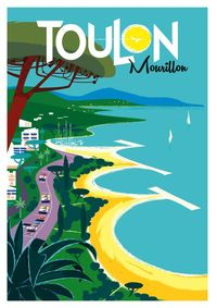 Toulon ~ Côtes d'Azur France ~ Francia ~ Frankrijk