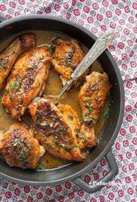 Dolores's Brokenhearted Chicken on http://palachinkablog.com