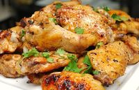Spicy Lime & Honey Chicken Wings - Guy Fieri - can be baked in the oven or grilled! Yummy!