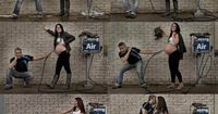 """�€œTHIS is """"photography while expecting"""" at it's best. What a great concept! #yegphoto #photography�€"""