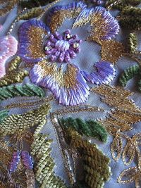 close up...gorgeous #embroidery #