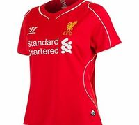 Warrior Liverpool Home Shirt 2014/15 Womens WSTW400 Liverpool Home Shirt 2014/15 Womens Red Youll never walk alone in this Liverpool Womens Home Shirt.  New for 2014/15 this red shirt features breathable War-Tech® fabric so you can stay cool and comfor...