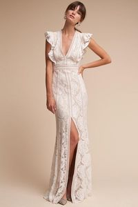 Ivory/natural Placid Gown   BHLDN