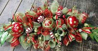 Others: How To Make A Christmas Centerpiece, Beauty Ideas Christmas Deco Mesh Centerpiece