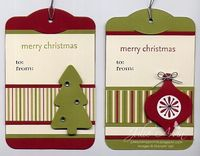 Christmas Tags ~ Julie's Stamp Journal: