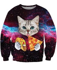 Taco Cat Crewneck Sweatshirt $59.95