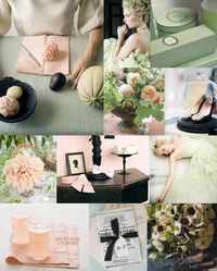 love the mint and grapefruit. and also LOVE this wedding // party website!!