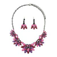 Get this amazing floral necklace set from Yoko's fashion, the leading wholesaler of fashion jewellery in UK.