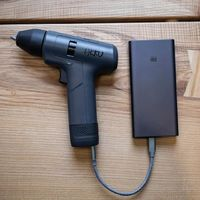 AKKU 3.6V 3000mAh Cordless Brushless Li-ion Electric Drill Driver From Xiaomi You Pin Multi-function Type-C Rechargeable Two-speed Power Drill Screwdiver