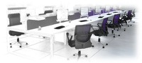 Diamond Office Furniture, Harlow, Essex can plan your office layout, supplying 2d or 3d drawings and making the most efficient use of your space and budget.