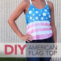 Learn how to make your own American flag shirt with our easy-to-follow DIY tutorial!