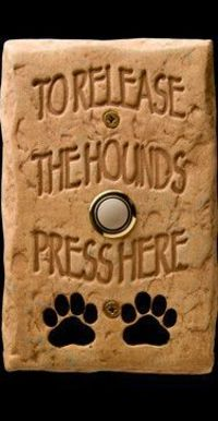 DogBellz -- Handmade, Hand-painted, Made-in-the-USA Dog Doorbells - eclectic - products - miami - DM Decos by Design, Inc.