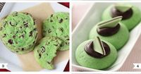 Everybody's a wee bit Irish on St. Patrick's Day, so break out the food coloring and celebrate with some tasty green treats! 1. Green velvet cupcakes by Love Fr