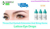 Use Latisse eye drops for the best treatment of open angle glaucoma and hypotrichosis. Generic of Latisse is Bimatoprost eye drops. Order Latisse eye drops online in USA from our pharmacy store - Chemist247Online - http://bit.ly/2E9c36W