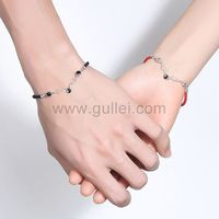 Matching Friendship Bracelets Set Birthday Gift https://www.gullei.com/matching-friendship-bracelets-set-birthday-gift.html
