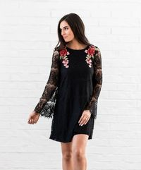 Mayberry's Bella Lace Dress In Black $25.51