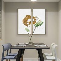 Gold painting Modern abstract painting on canvas art lovers hand texture acrylic original painting Wall Picture large painting hand painted $89.00