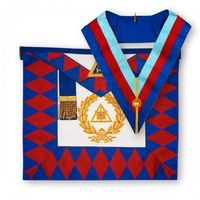 Royal Arch Grand Chapter Lambskin Apron & Collar.jpg
