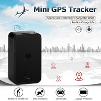 GF19 Mini GPS Tracker SOS Magnetic Real Time Car Vehicle Locator Tracking Device GPS & Accessories GPS Trackers Anti-loss Tracker 5.0
