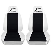 Two Front Covers Customized with Your Design Embroidered Side Airbag Friendly Fits Toyota RAV4 $89.99