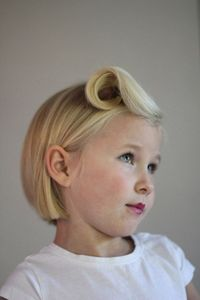 9 DIY Kits Hairstyles -postup a section of the bangs to the root. Thenpostit with a bobby pin. If you have shorter bangs you may need mousse or hair gel to hold them in place.