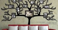 photo collage wall dining room | ... Frames Photo Collage Living Dining Room Hallway Interior Decor