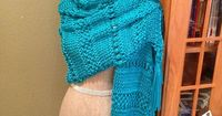 Free Pattern: Triple Stitch Prayer Shawl by Louis Chicquette