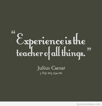 Experience beautiful quote 2015