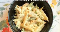 Here is my recipe for Chicken Ziti Carbonara. It only takes 6 ingredients, add them to pasta, and BAM! Delicious dinner is served. I also have several shortcuts