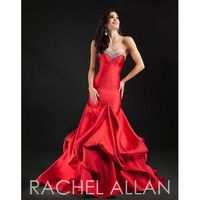 Red Rachel Allan Couture 8115 Rachel ALLAN Couture - Rich Your Wedding Day