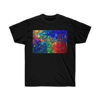 Abstract Unisex Cotton T-Shirt $19.00