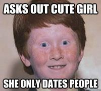 Overconfident Ginger